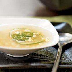 Asian Corn Soup recipe