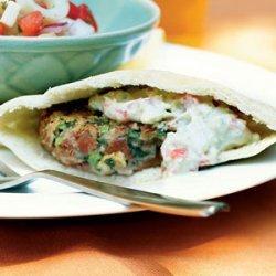 Southwestern Falafel with Avocado Spread recipe