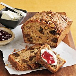 Fig, Applesauce, and Almond Breakfast Loaf recipe