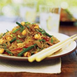 Spicy Scallop and Bean Thread Noodle Salad recipe