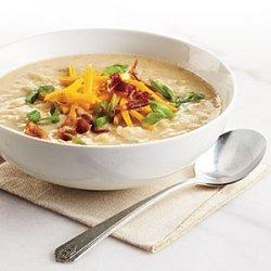 Creamy, Light Potato Soup recipe