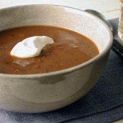 Black Bean Soup recipe