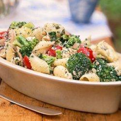 Broccoli, Cherry Tomato, and Pasta Salad recipe