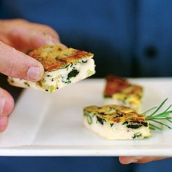 Spinach and Leek Frittata recipe