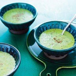 Creamy Lettuce Soup recipe