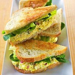 White Truffle Egg Salad recipe