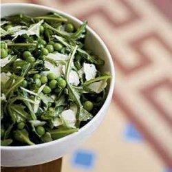 Fresh English Pea Salad with Mint and Pecorino recipe