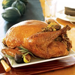 Roast Turkey with Sage Stuffing and Gravy recipe