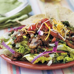 Taco Salad with Cilantro-Lime Vinaigrette recipe