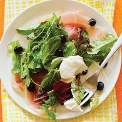 Blueberry and Prosciutto Salad recipe