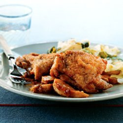 Braised Chicken with Apples and Sage recipe