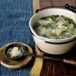 Wonton Soup with Bok Choy recipe