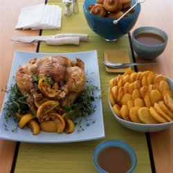 Roast Capon with Lemon and Thyme recipe