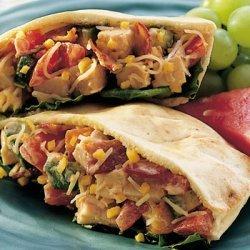 Cobb Salad Pitas recipe