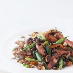 Duck and Wild Rice Salad recipe