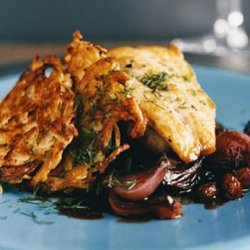 Striped Bass in Agrodolce Sauce recipe
