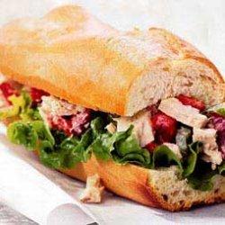Tuna and Olive Salad Sandwich recipe