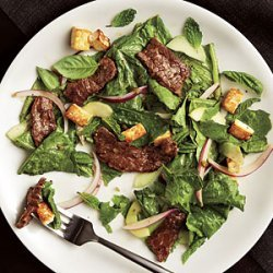 Spicy Beef and Tofu Salad recipe