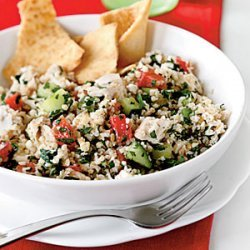 Chicken and Feta Tabbouleh recipe