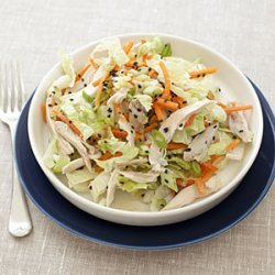 Chinese Chicken-Cabbage Salad with Peanut Sauce recipe