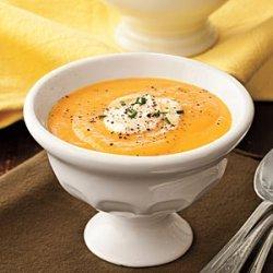 Lyda's Cream of Carrot Soup recipe
