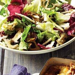 Mushroom, Chicory, and Celery-Root Salad recipe