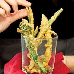 Tempura Vegetable Crudites recipe