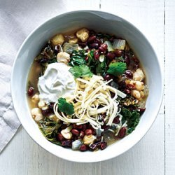 Black Bean, Hominy, and Kale Stew recipe