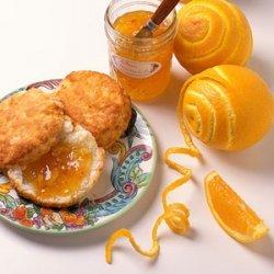 Candied Orange Rind recipe