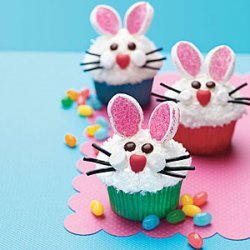 Bunny Face Cupcakes recipe