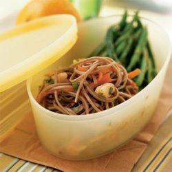 Soba Noodles with Shrimp recipe