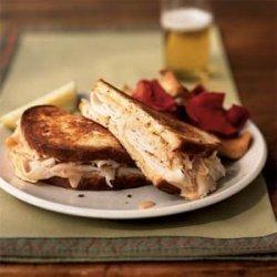 Turkey Reuben Sandwiches recipe