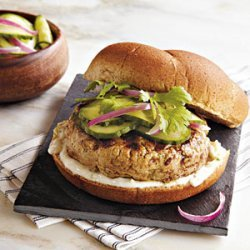 Asian Tuna Burgers recipe