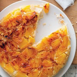 Coconut and Fresh Pineapple Upside-Down Cake recipe