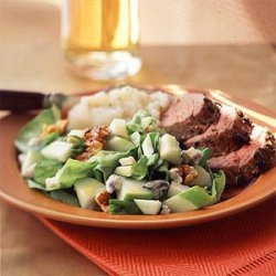 Classic Apple and Blue Cheese Salad recipe