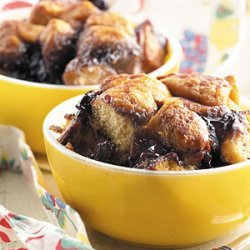 Mom's Blueberry Cobbler recipe