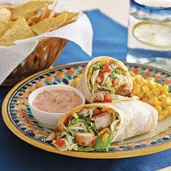 Mexican Chicken Wrap recipe