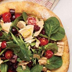 Tuna Salad Pizza recipe