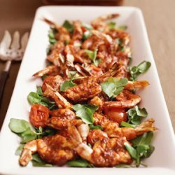 Broiled Shrimp with Spicy Chile Sauce Barra Vieja recipe