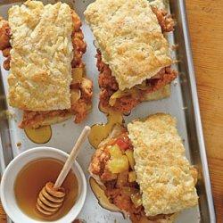 Fried Chicken Thighs & Biscuits recipe