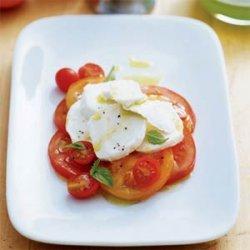 Tomato and Basil Orzo Salad recipe