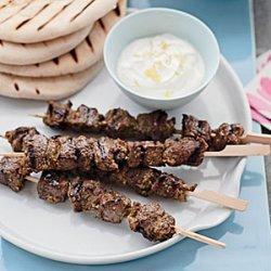 Middle Eastern Lamb Skewers recipe