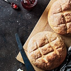 Crusty French Boules recipe