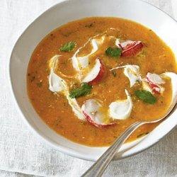 Heirloom Tomato Gazpacho with Lobster recipe