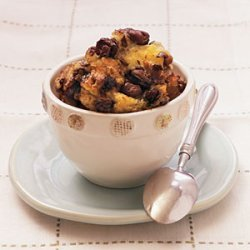 Chocolate-Raisin Bread Pudding recipe