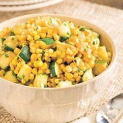 Sweet Corn and Zucchini recipe