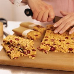 Cranberry-Almond Granola Bars recipe