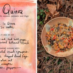 Quinoa with Butternut Squash and Red Bell Pepper recipe