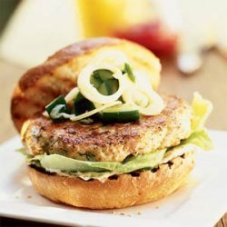 Double Salmon Burgers recipe