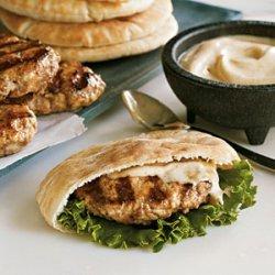 Lamb and Turkey Pita Burgers recipe